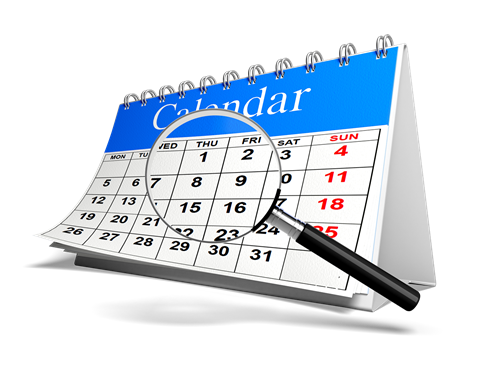 Lake County Appeal Property Tax Deadline Information - Calendar with Magnifying glass
